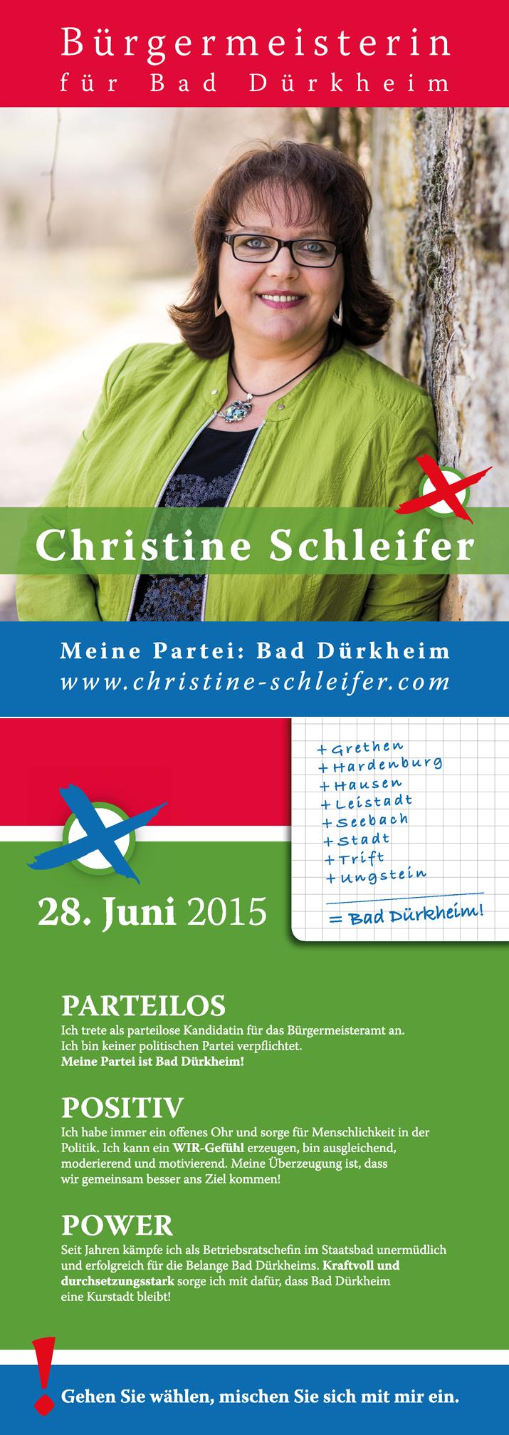 Christine Schleifer Bürgermeisterwahl Bad Dürkheim