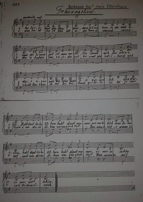 Lied der Donauschwaben Verlasse heut mein Elternhaus